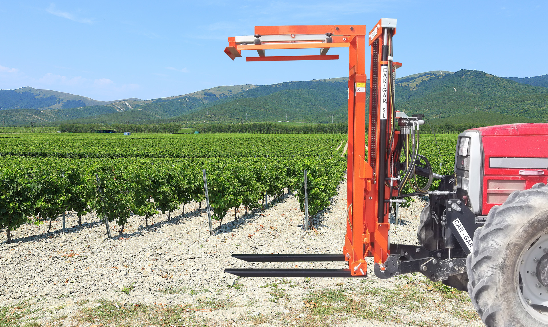 Hydraulic Forklifts for tractors
